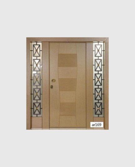 Πόρτα Εισόδου Πολυκατοικίας AR169